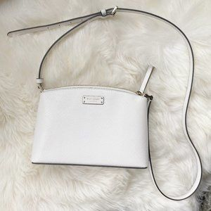 NEW Kate Spade Jeanne Leather White Crossbody